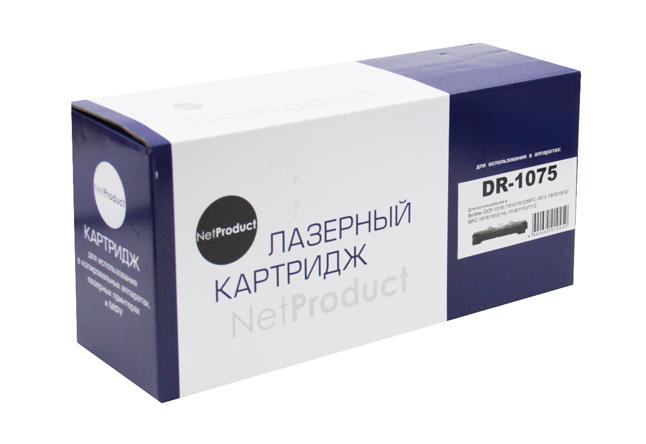 Драм-юнит NetProduct (N-DR-1075) для BrotherHL-1010R/1112R/DCP-1510R/1512R/MFC-1810R, 10K