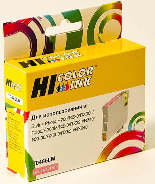 Картридж Hi-Black (HB-T0486) для Epson Stylus PhotoR200/R300/RX500/RX600, LM