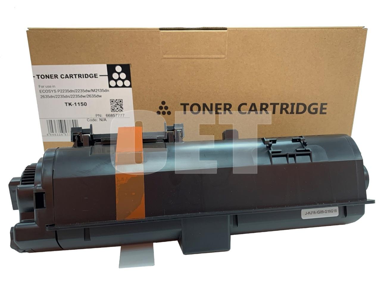 Тонер-картридж (PK9, без чипа) TK-1150 для KYOCERAECOSYS M2135dn/M2635dn/P2235dn/P2635dw/P2735dw (CET),140г, 3000 стр., CET66857777