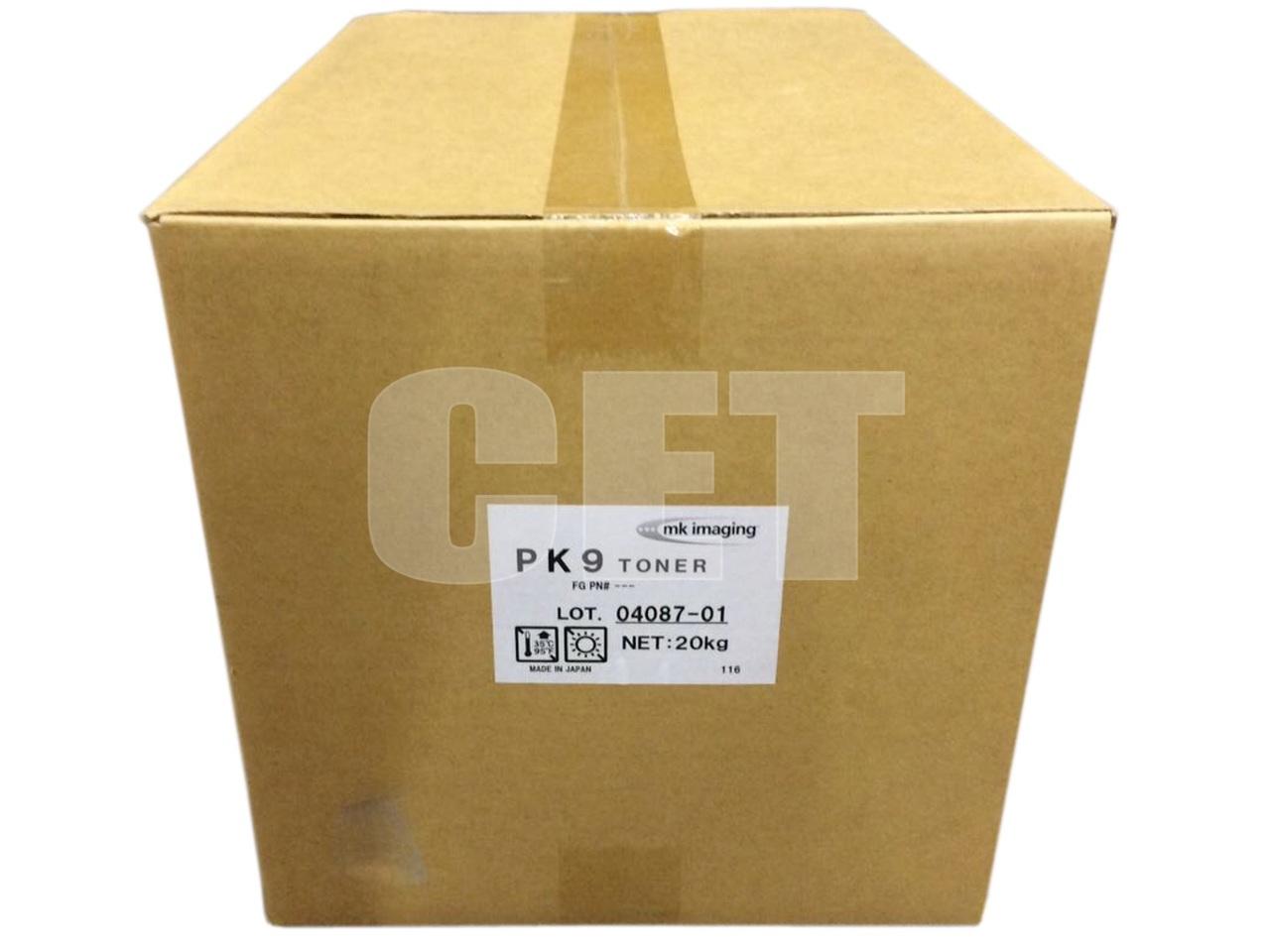 Тонер PK9 для KYOCERA ECOSYS M3040DN,FS-4100DN/4200DN/4300DN/2100DN (Japan), Упаковка8х1кг/бут, (унив.), CET8857-8000