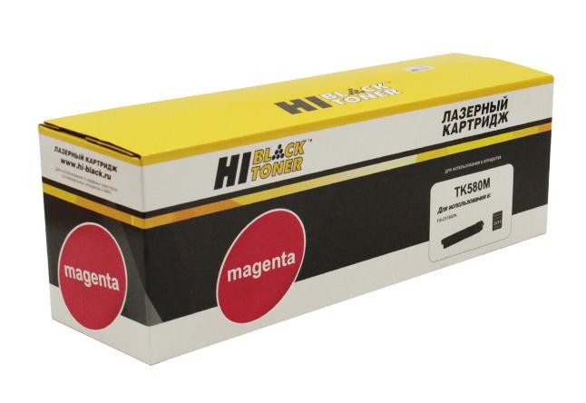 Тонер-картридж Hi-Black (HB-TK-580M) для KyoceraFS-C5150DN/ECOSYS P6021, M, 2,8K