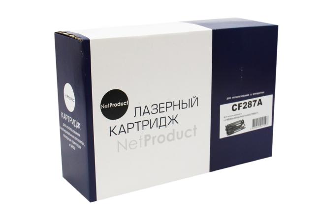 Картридж NetProduct (N-CF287A) для HP LJM506dn/M506x/M527dn/M527f/M527c, 9K
