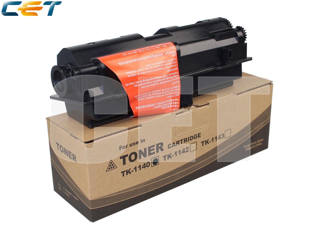 Тонер-картридж (PK2) TK-1140 для KYOCERA ECOSYSM2035DN/M2535DN, FS-1035MFP/1135MFP (CET), 280г, 7200стр., CET8189