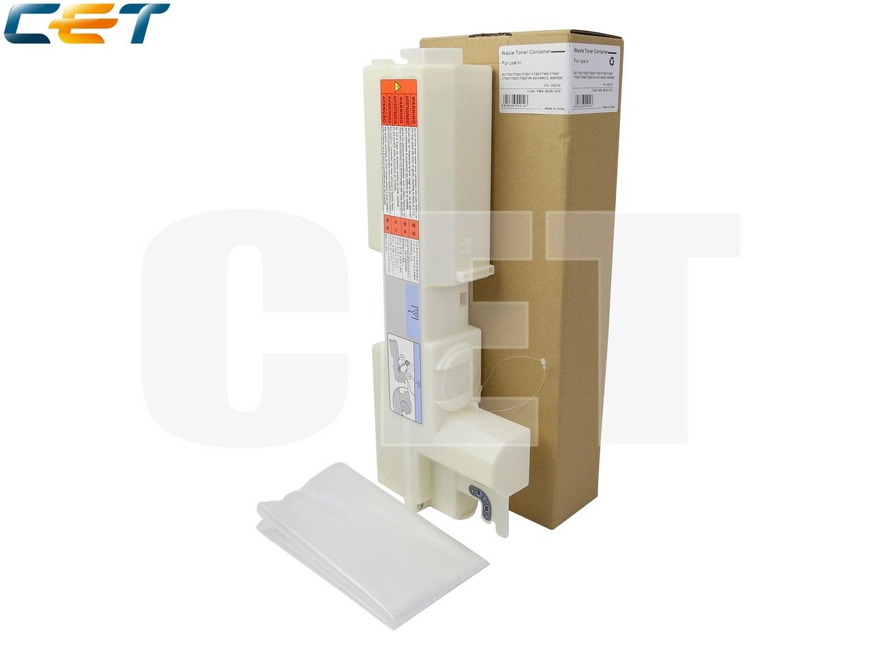 Бункер отработанного тонера FM4-8035-010 для CANONiR1730/1740/1750/iR ADVANCE 400/500 (CET), CET5210