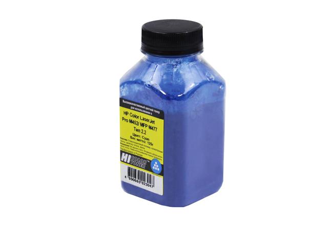 Тонер Hi-Black для HP CLJ Pro M452/MFP M477, Химический,Тип 2.2, C, 125 г, банка