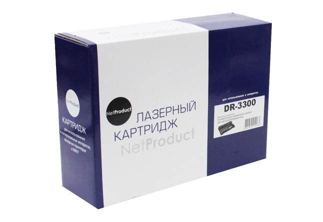 Драм-юнит NetProduct (N-DR-3300) для BrotherHL-5440D/5445D/5450DN/6180DW/DCP-8110DN, 30K