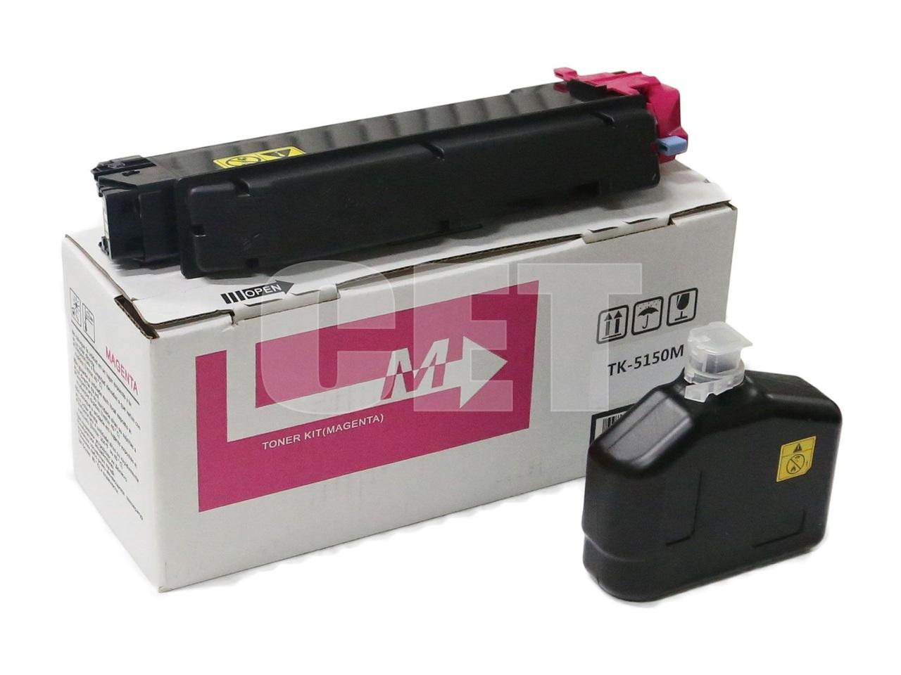Тонер-картридж TK-5150M для KYOCERA ECOSYSM6035cidn/6535cidn/P6035cdn (CET) Magenta, 160г, 10000 стр.,CET8972M