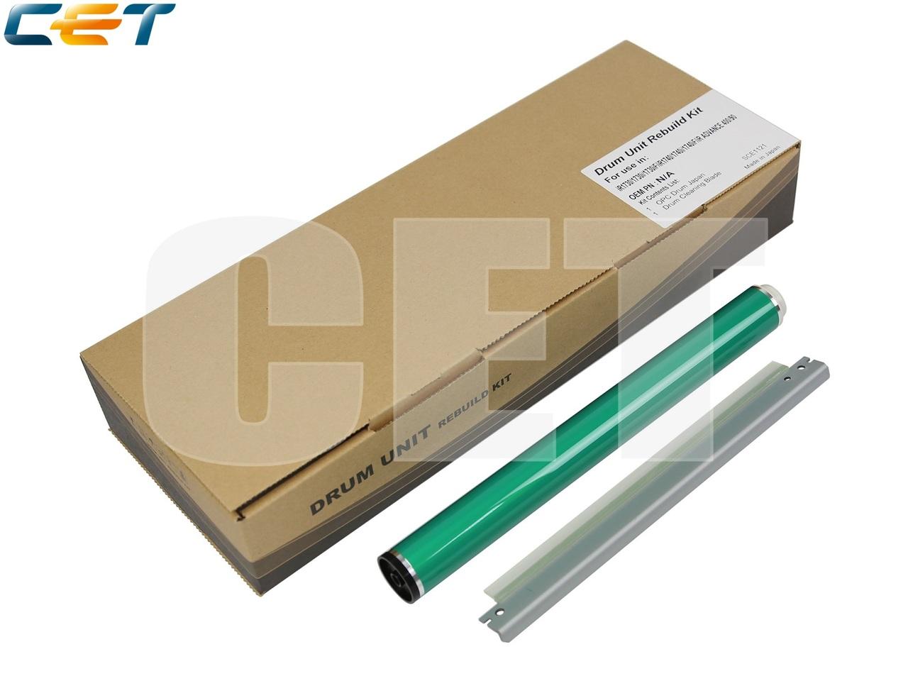 Комплект восстановления драм-юнита (барабан, ракель)C-EXV37 для CANON iR1730/1740/1750/iR ADVANCE 400/500(CET), 100000 стр., CET5218