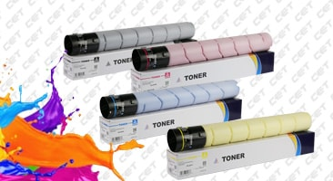 Цветные и монохромные тонер картриджи СЕТ для Brother, Canon, Konica Minolta, Kyocera, Ricoh, Toshiba, Sharp, Xerox