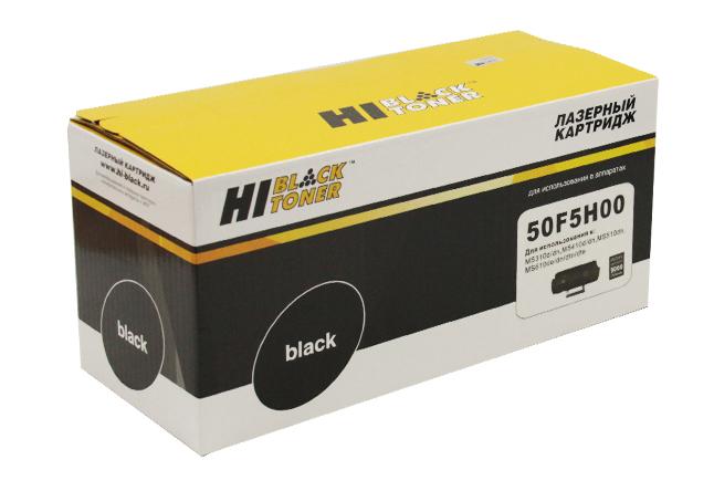 Тонер-картридж Hi-Black (HB-50F5H00) для LexmarkMS310/MS410/MS510/MS610, 5K