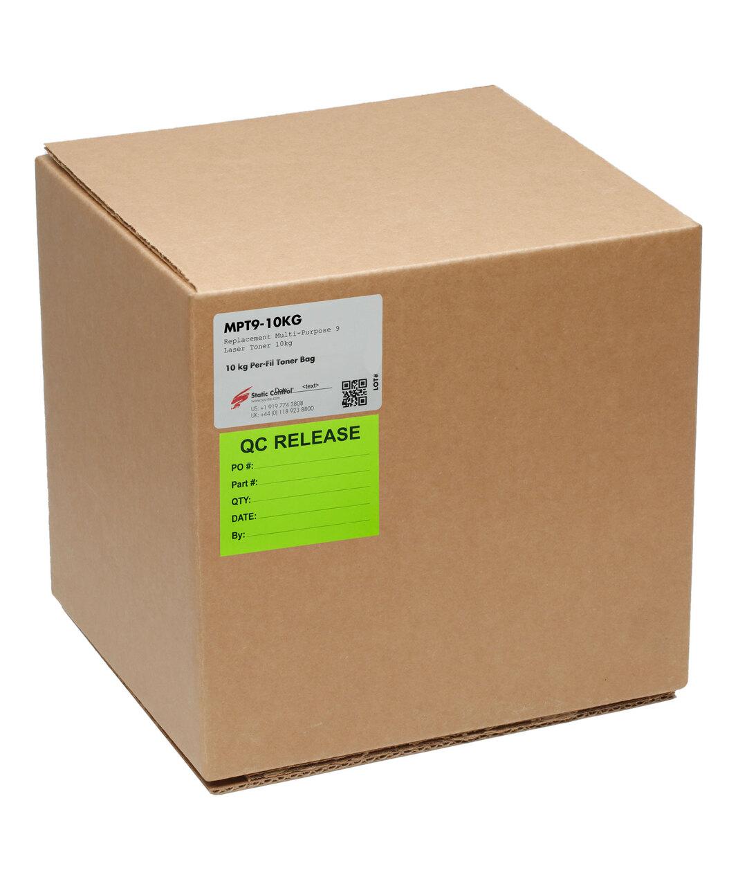 Тонер Static Control Универсальный для HP LJ M425, MPT9,Bk, 10 кг, коробка MPT9-10KG