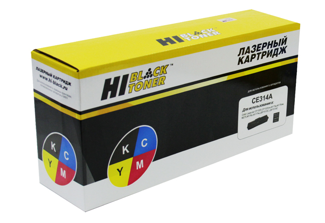 Драм-юнит Hi-Black (HB-CE314A) для HP CLJCP1025/CP1025nw/M175/176/177/275, 14K/7K