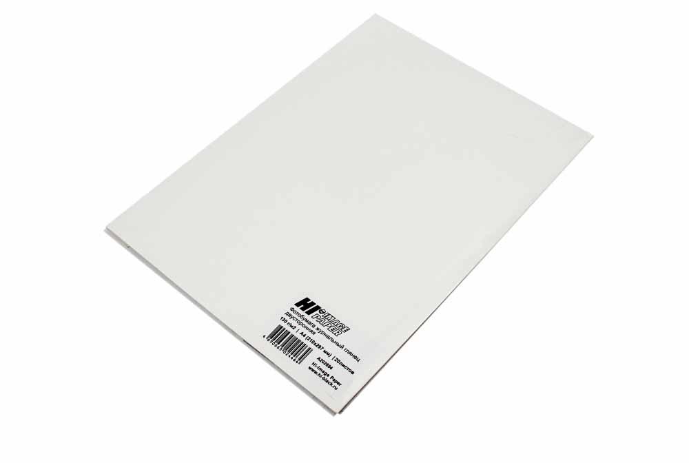 Фотобумага Hi-Image Paper журнальный глянец, двусторонняя,A4, 130 г/м2, 20 л.