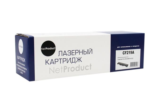 Драм-юнит NetProduct (N-CF219A) для HP LJ Pro M104/MFPM132, 12K