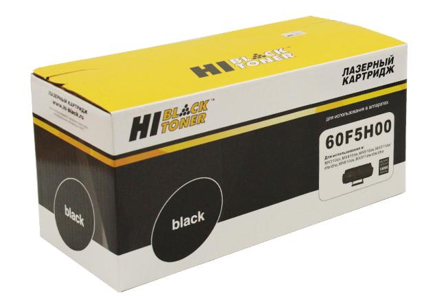 Тонер-картридж Hi-Black (HB-60F5H00) для LexmarkMX310/MX410/MX510/MX511/MX610/MX611, 10K