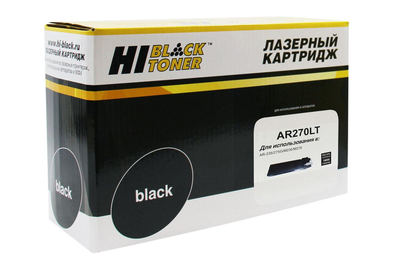 Тонер-картридж Hi-Black (HB-AR270LT) для SharpAR-235/275G/M236/M276, 15К