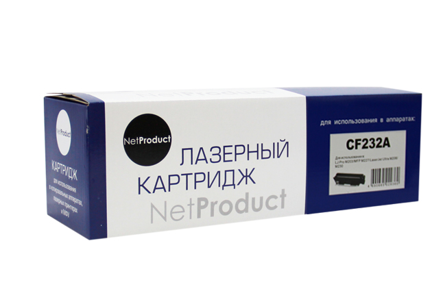 Драм-юнит NetProduct (N-CF232A) для HP LJ ProM203/M206/M230/MFP M227, 23K