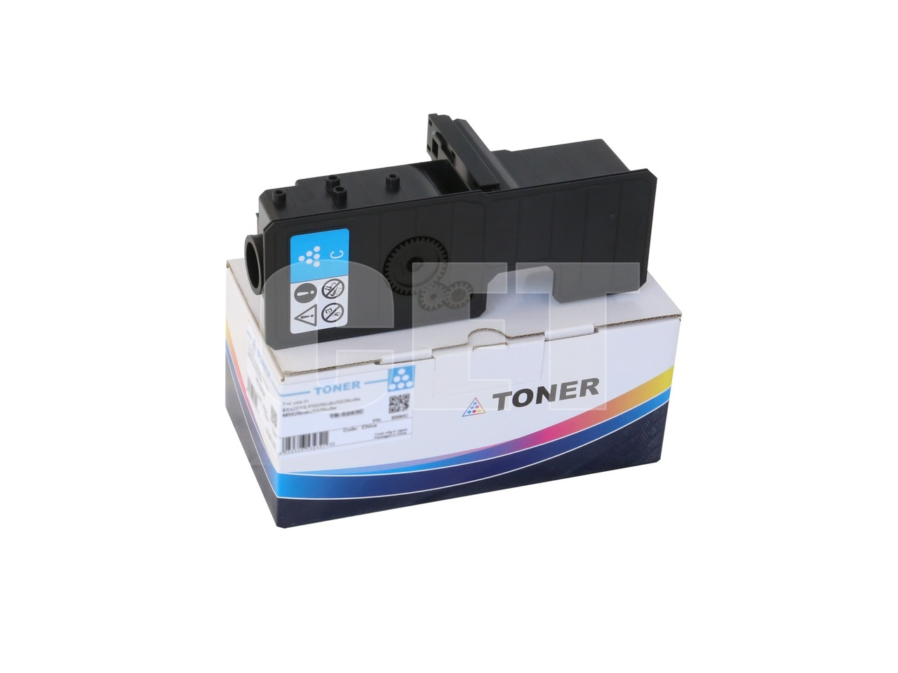 Тонер-картридж (PK208) TK-5230C для KYOCERA ECOSYSP5021cdn/M5521cdn (CET) Cyan, 33г, 2200 стр., CET8995C