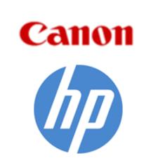 Canon, HP