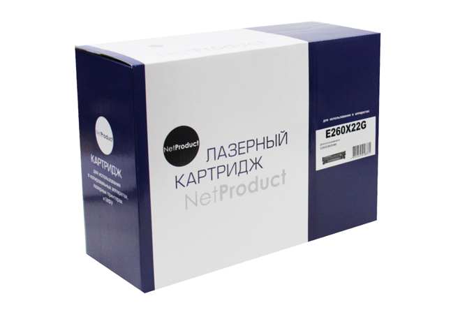 Драм-юнит NetProduct (N-E260X22G) для LexmarkE260/E360/E460, 30K