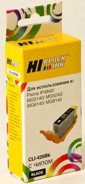 Картридж Hi-Black (HB-CLI-426Bk) для Canon PIXMAMG5140/5240/6140/8140, Bk