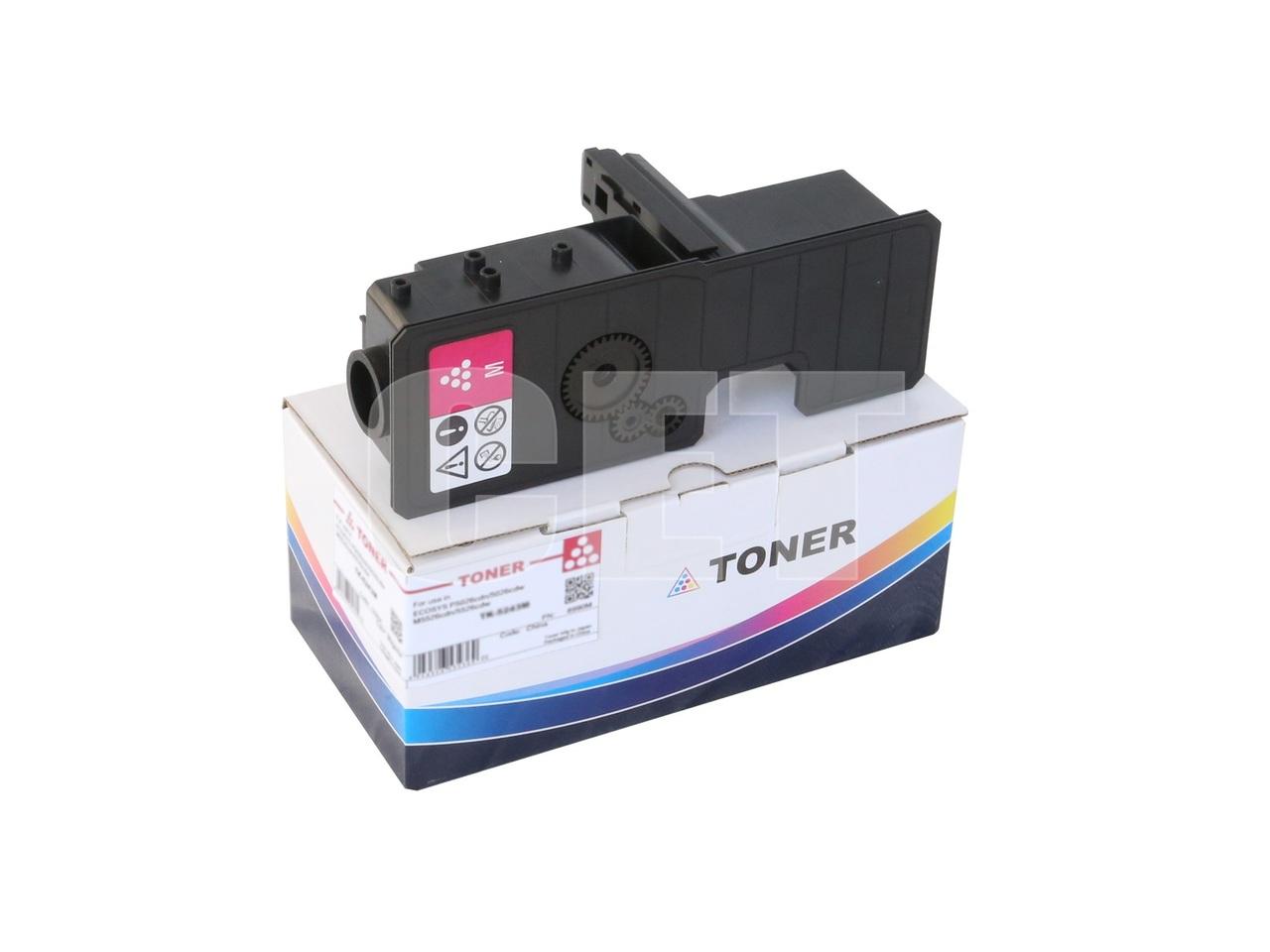 Тонер-картридж (PK208) TK-5230M для KYOCERA ECOSYSP5021cdn/M5521cdn (CET) Magenta, 33г, 2200 стр., CET8995M