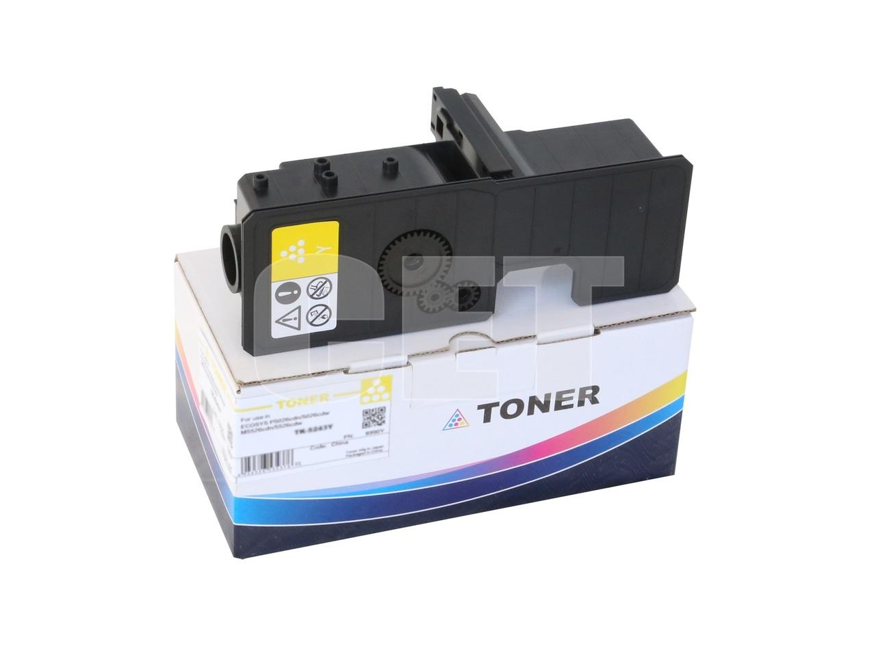 Тонер-картридж (PK208) TK-5230Y для KYOCERA ECOSYSP5021cdn/M5521cdn (CET) Yellow, 33г, 2200 стр., CET8995Y