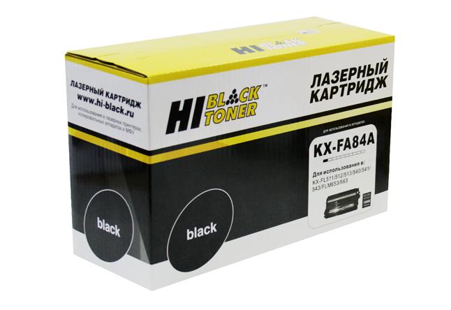 Драм-юнит Hi-Black (HB-KX-FA84A) для PanasonicKX-FL511/512/540/541/FLM653, Восстан., 10K