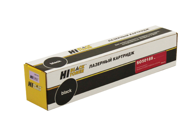 Тонер-картридж Hi-Black (HB-C13S050188) для Epson AcuLaserC1100/CX11N/CX11NF, M, 4K