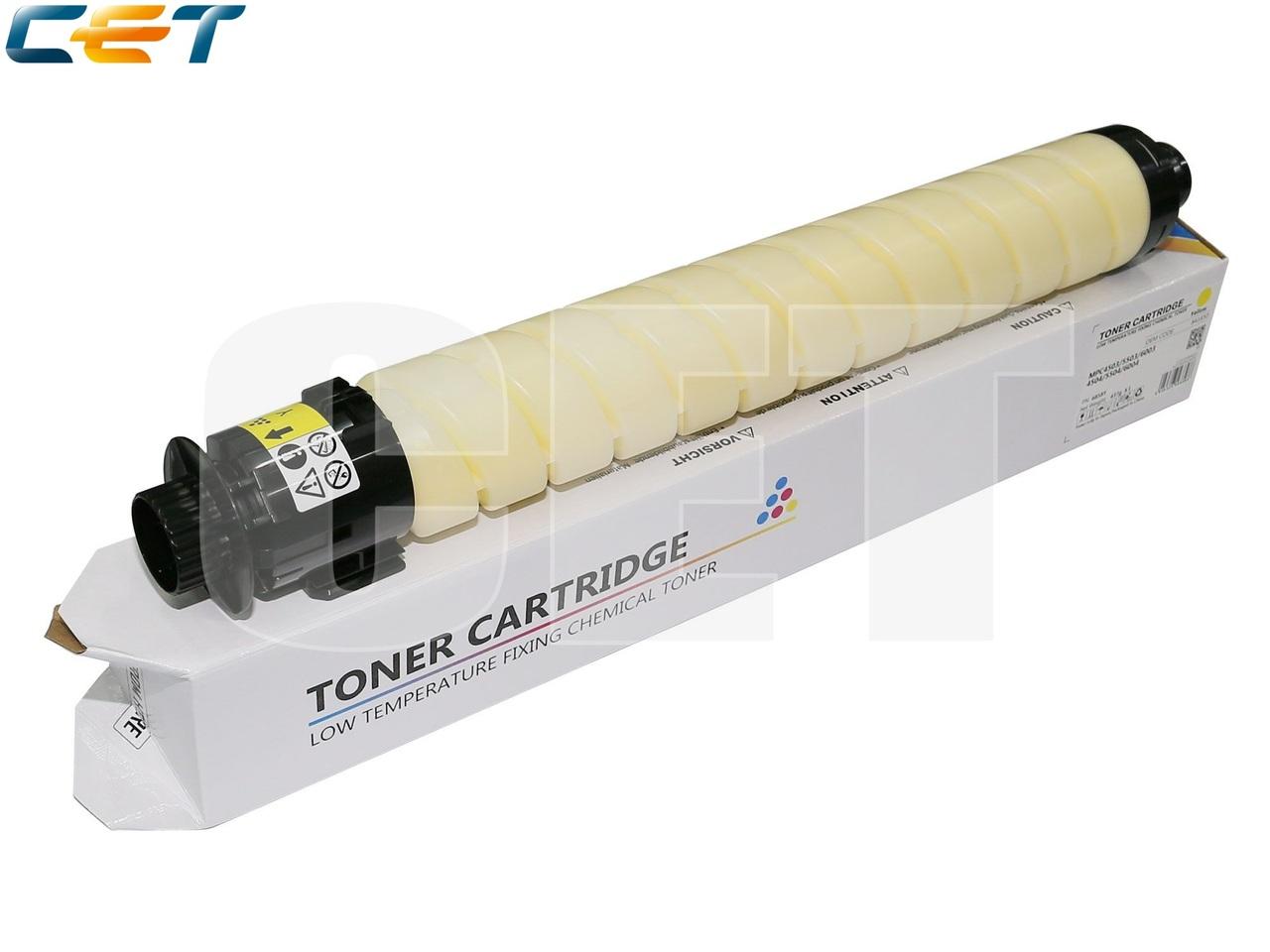 Тонер-картридж (CPP, HT8) 841854 для RICOH AficioMPC4503/5503/6003 (CET) Yellow, (WW), 437г, 22500 стр.,CET6858Y