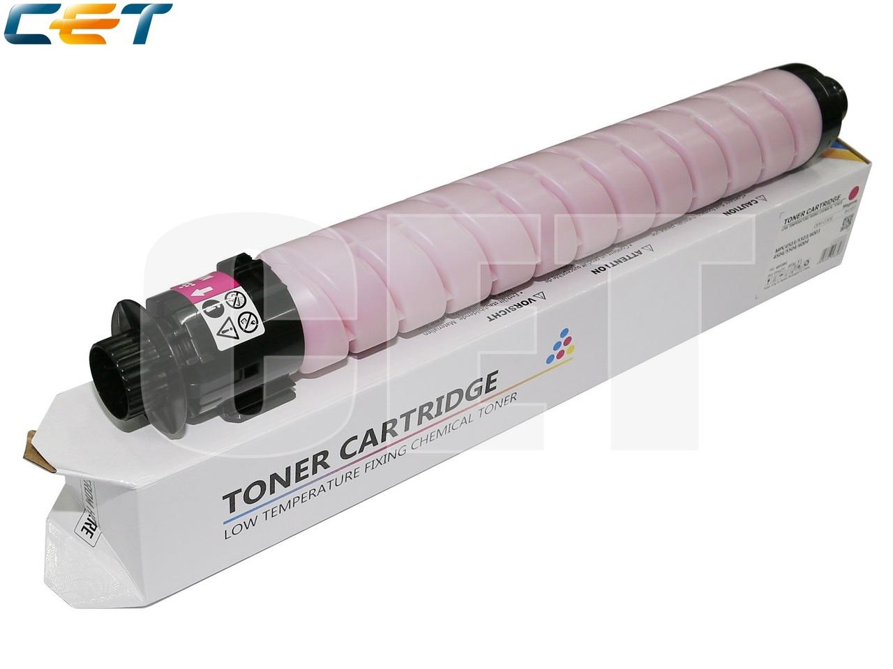 Тонер-картридж (CPP, HT8) 841855 для RICOH AficioMPC4503/5503/6003 (CET) Magenta, (WW), 455г, 22500 стр.,CET6858M