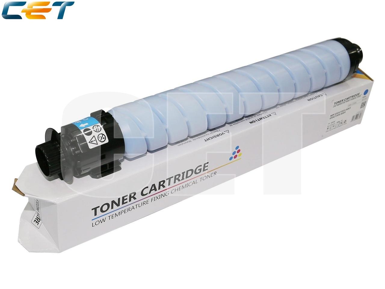 Тонер-картридж (CPP, HT8) 841856 для RICOH AficioMPC4503/5503/6003 (CET) Cyan, (WW), 400г, 22500 стр.,CET6858C