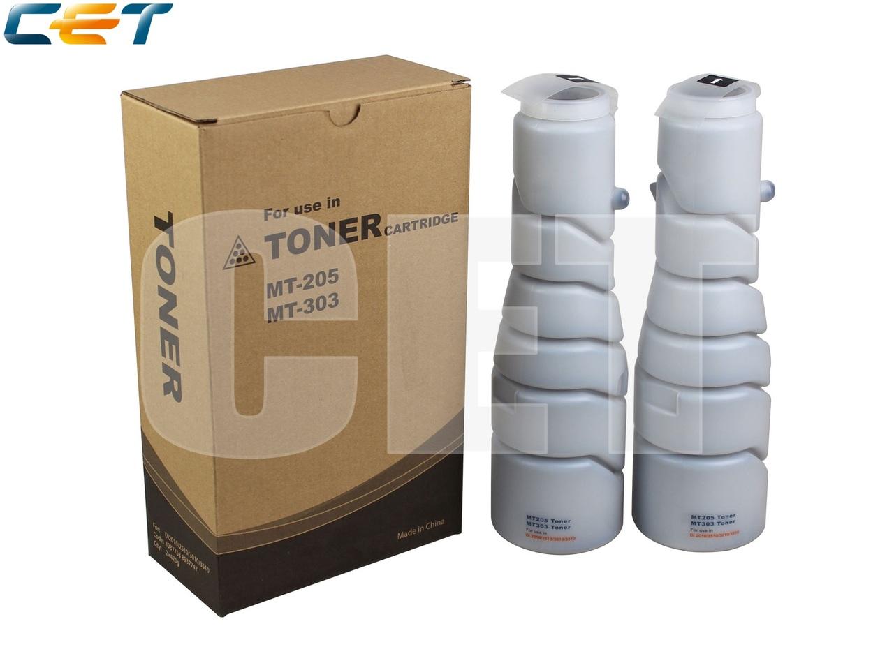 Тонер-картридж MT-205/MT-303 для KONICA MINOLTADi2010/2510/3010/3510 (CET), 420г, 14000 стр., CET6704