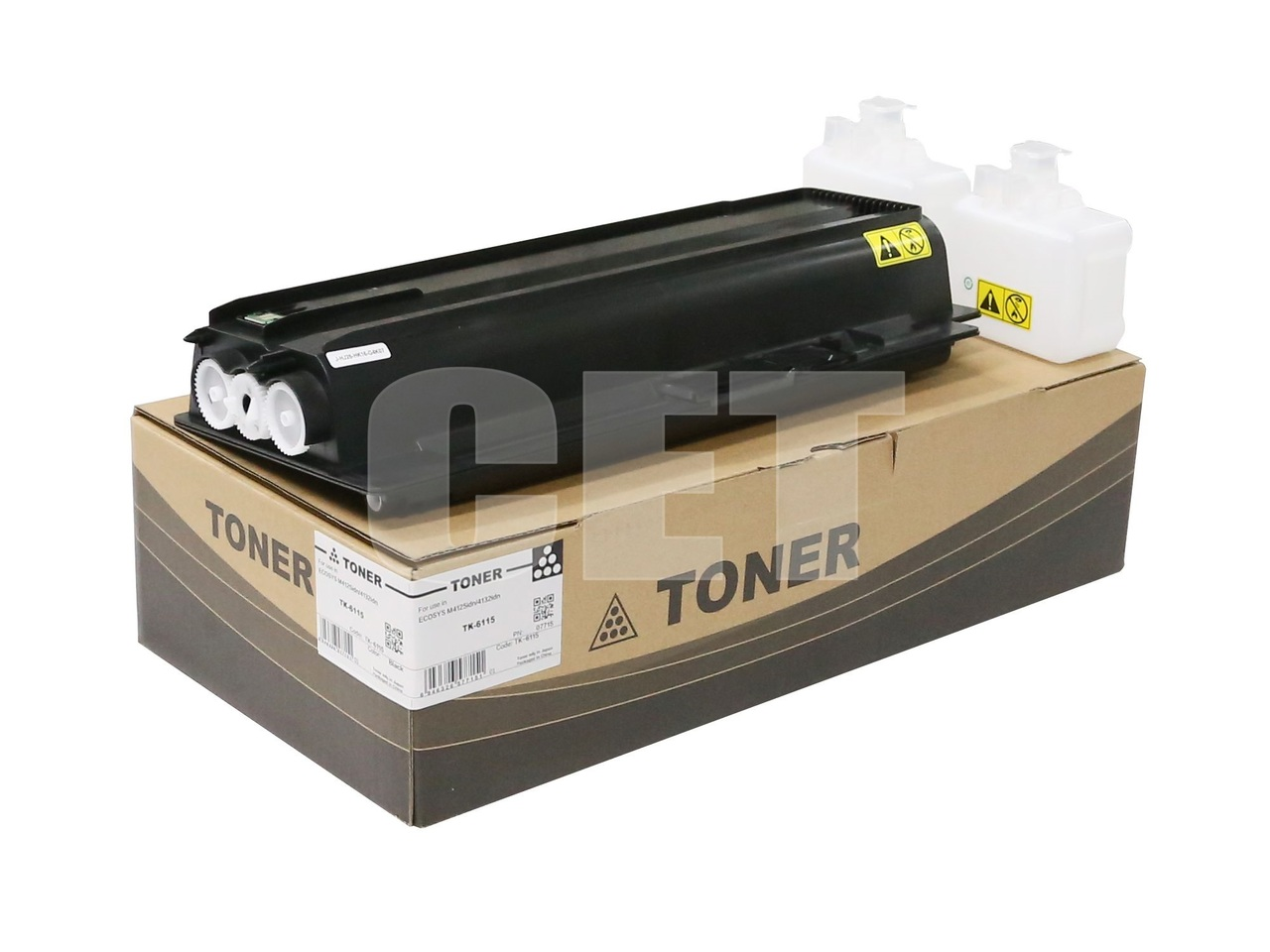Тонер-картридж (PK9/PK10) TK-6115 для KYOCERA ECOSYSM4125idn/4132idn (CET), 540г, 15000 стр., CET7715
