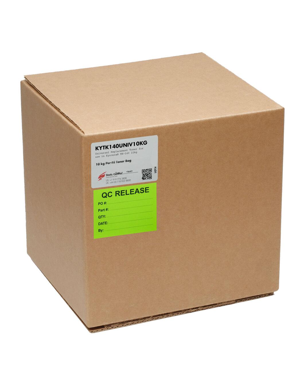 Тонер Static Control для Kyocera FS-1030/1100/1120/1300(TK-140), 10 кг, коробка KYTK140UNIV10KG