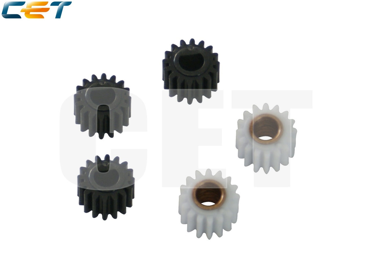 Комплект шестерен блока проявки B039-3062 (2 шт.),B039-3245 (2 шт.), B039-3060 (1 шт.) для RICOH Aficio1015/1018 (CET), CET6006