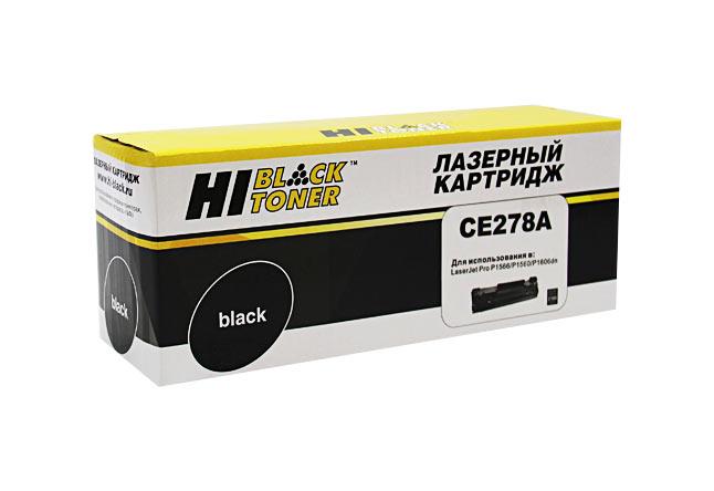Картридж Hi-Black (HB-CE278A) для HP LJ ProP1566/P1606dn/M1536dnf, 2,1K