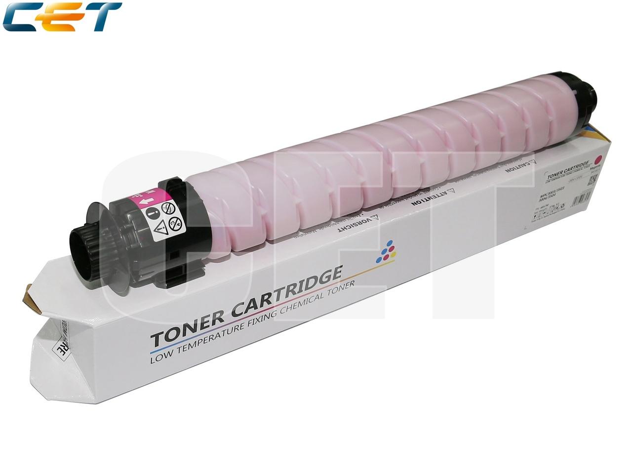 Тонер-картридж (CPT, HT8) 841819 для RICOHMPC3003/3503/3004/3504 (CET) Magenta, 374г, 18000 стр.,CET6857M