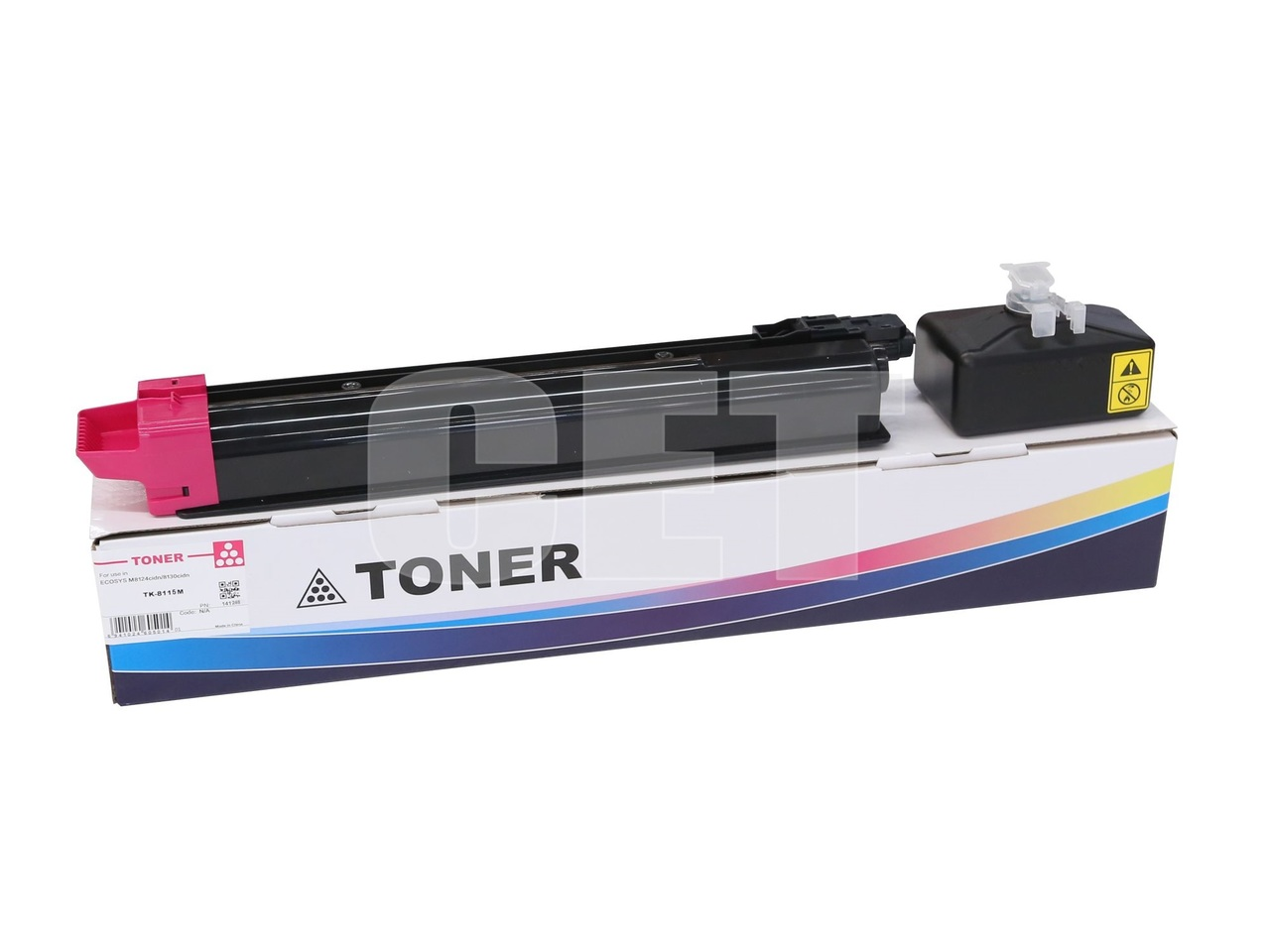 Тонер-картридж (PK207) TK-8115M для KYOCERA ECOSYSM8124cidn/8130cidn (CET) Magenta, 105г, 6000 стр., CET141248