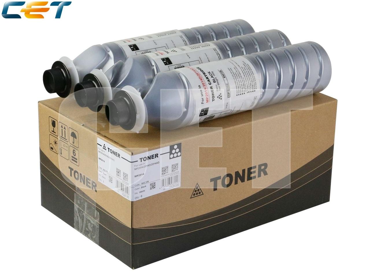 Тонер-картридж (CPP) 842128 для RICOH MP2014/2014D(CET), 160г, 4000 стр., CET6605