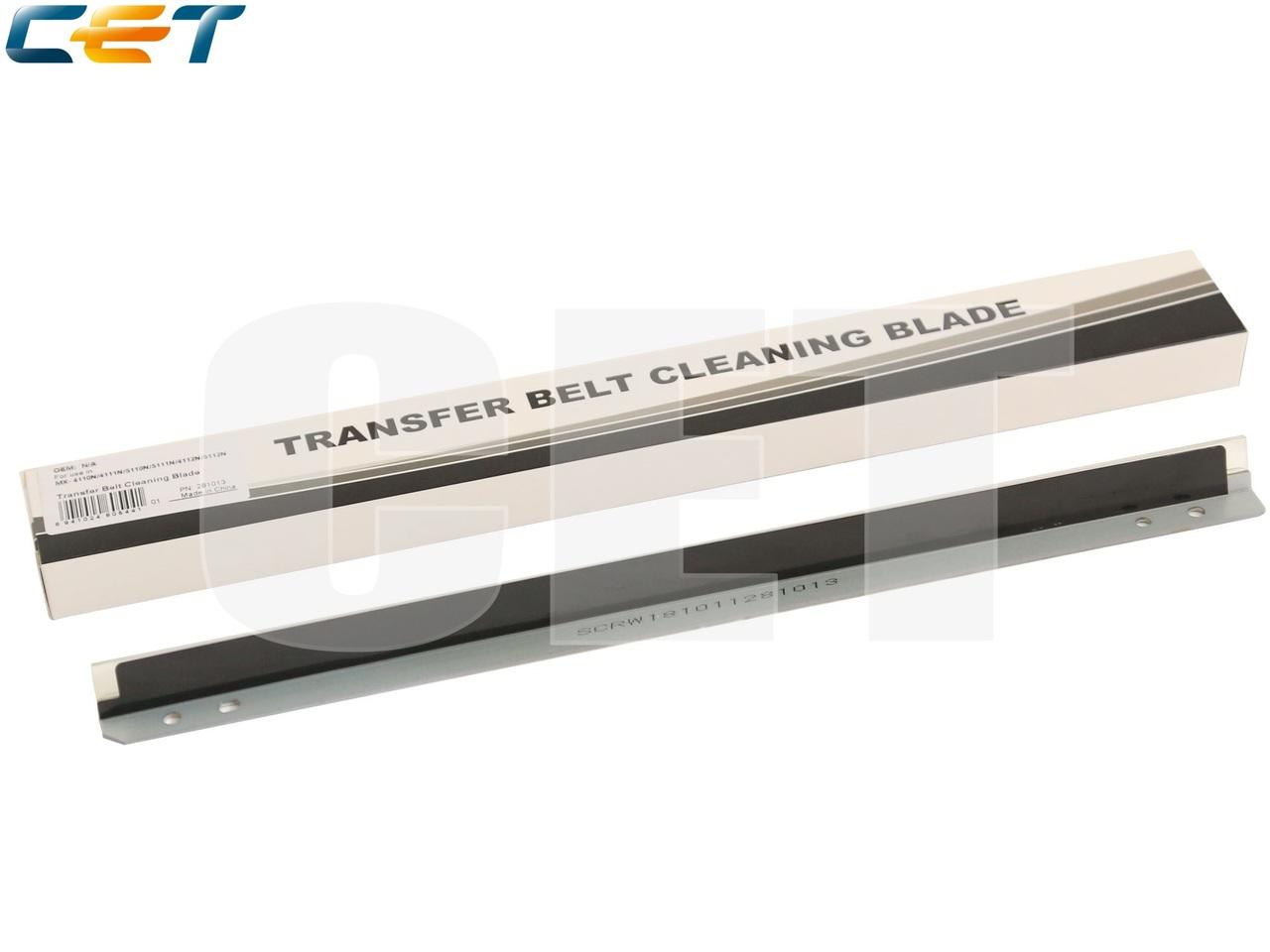 Лезвие очистки ленты переноса CCLEZ0221FC31 для SHARPMX-2310/5110N (CET), CET281013