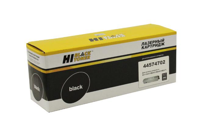 Тонер-картридж Hi-Black (HB-44574702/44574705) для OKIB411/B431/MB461/MB471/MB491, 4K