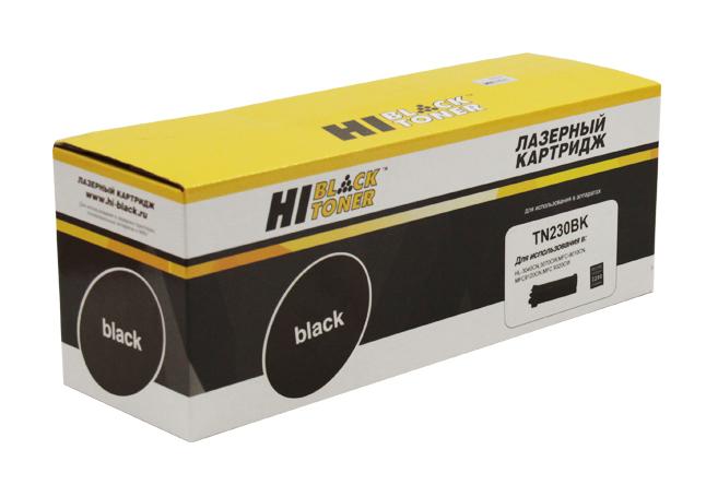 Тонер-картридж Hi-Black (HB-TN-230Bk) для BrotherHL-3040CN/3070CW/MFC9010CN/9120, Bk,2,2K