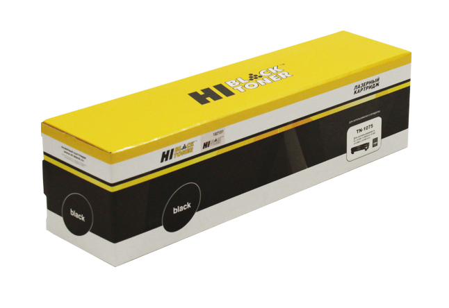 Тонер-картридж Hi-Black (HB-TN-1075) для BrotherHL-1010R/1112R/DCP1510R/1512/MFC1810R, 1K