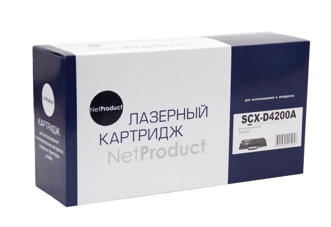 Картридж NetProduct (N-SCX-D4200A) для SamsungSCX-D4200/4220, 3K