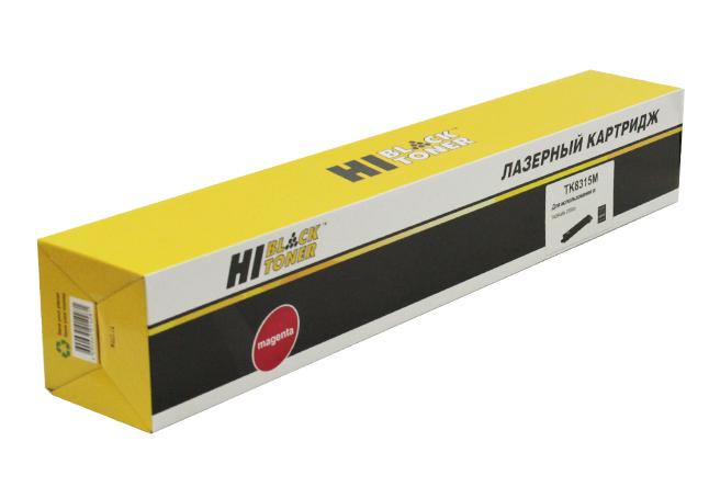 Тонер-картридж Hi-Black (HB-TK-8315M) для Kyocera TASKalfa2550ci, M, 6K