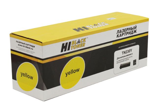 Тонер-картридж Hi-Black (HB-TN-230Y) для BrotherHL-3040CN/3070CW/MFC9010CN/9120, Y, 1,4K