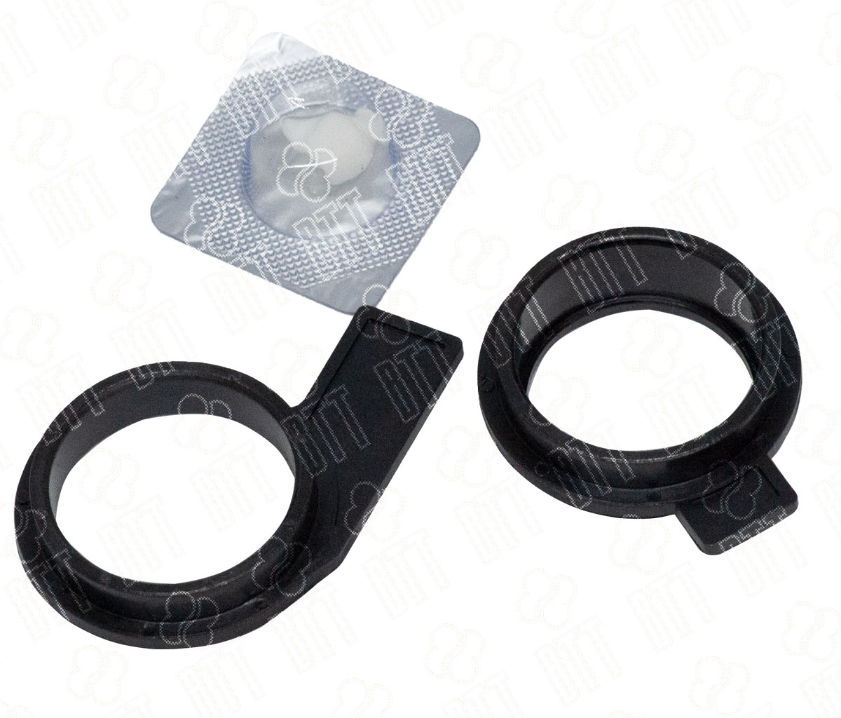 Комплект втулок тефлонового вала (передняя+задняя) дляKyocera KM-1620/2020 (совм)