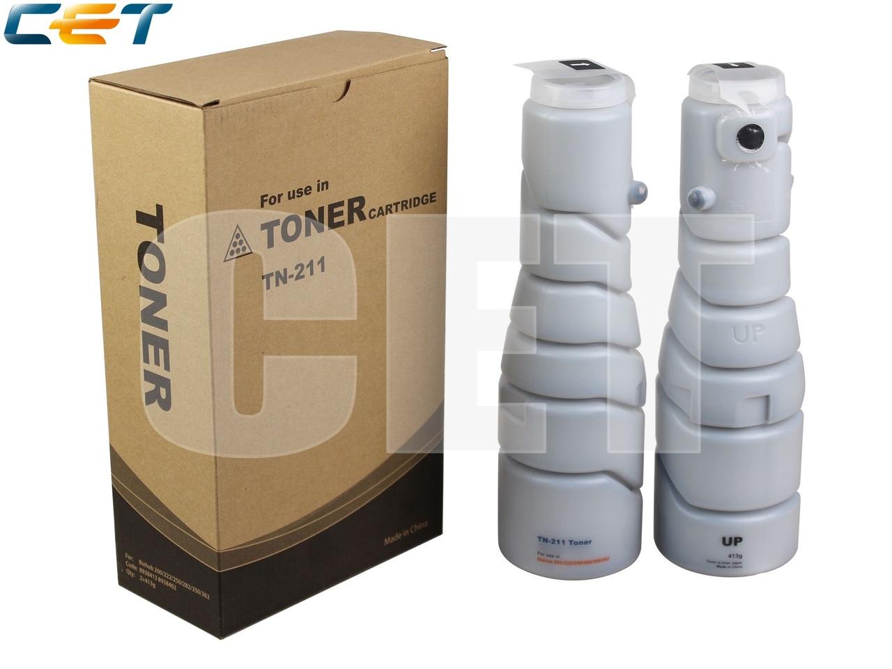 Тонер-картридж TN-211 для KONICA MINOLTA Bizhub200/222/250/282 (CET), 413г, 17000 стр., CET6706