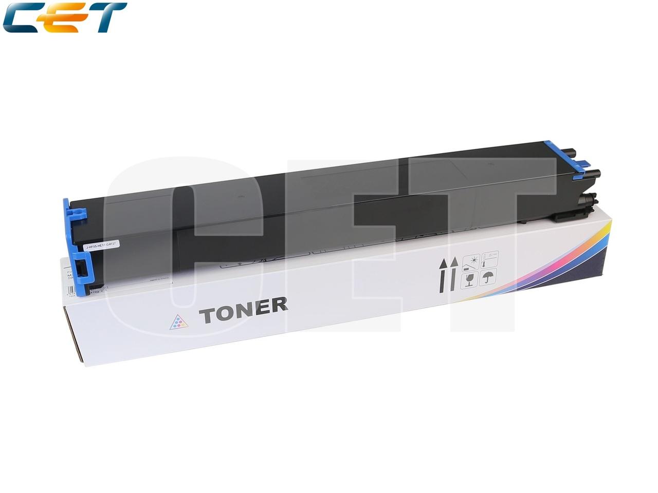 Тонер-картридж (TF9) MX-60GTCA для SHARPMX-3050N/4050N/4070N/5070N (CET) Cyan, 476г, 24000 стр.,CET141243